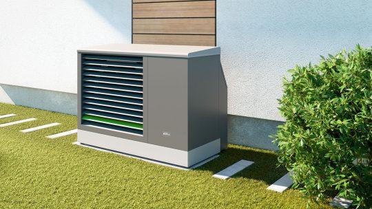 Kühlen mit Kermi Fußbodenheizung und Wärmepumpe.