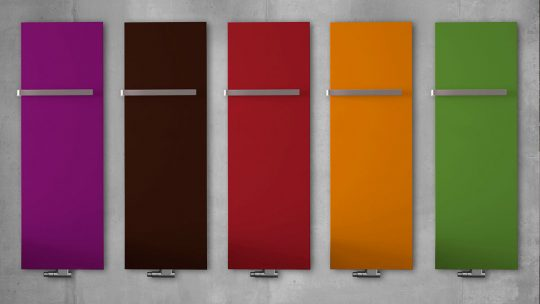 Kermi Design- und Badheizkörper Beispiel Farben Rubeo