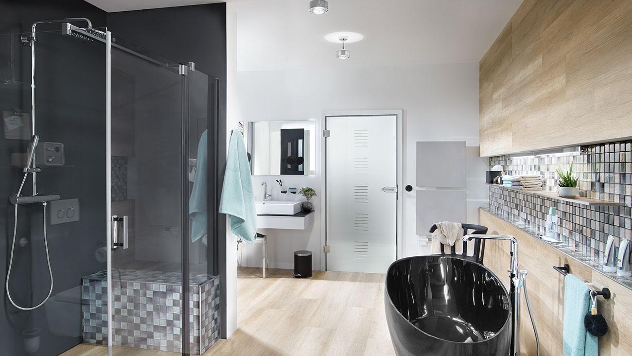 Voll ins schwarze 6 tipps f rs badezimmer kermi blog for Tipps badezimmer