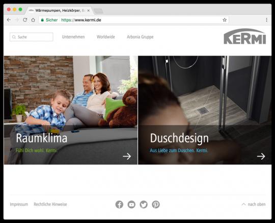 Besuchen Sie uns auf www.kermi.de