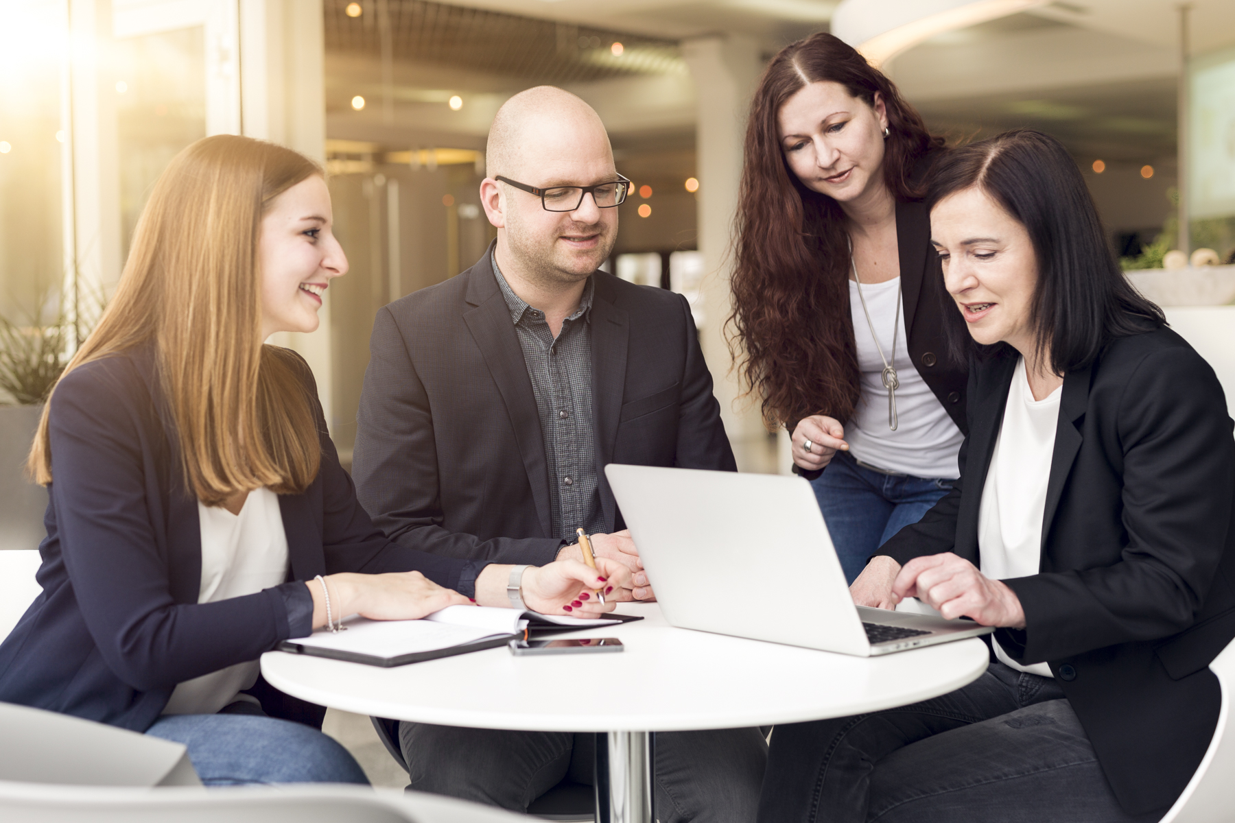 Sandra, Christian, Steffi und Heidi - Kermi Blog Autoren